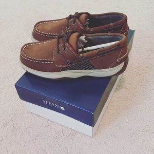 Boys Sperry Top-Sider Boat Shoe Size 3